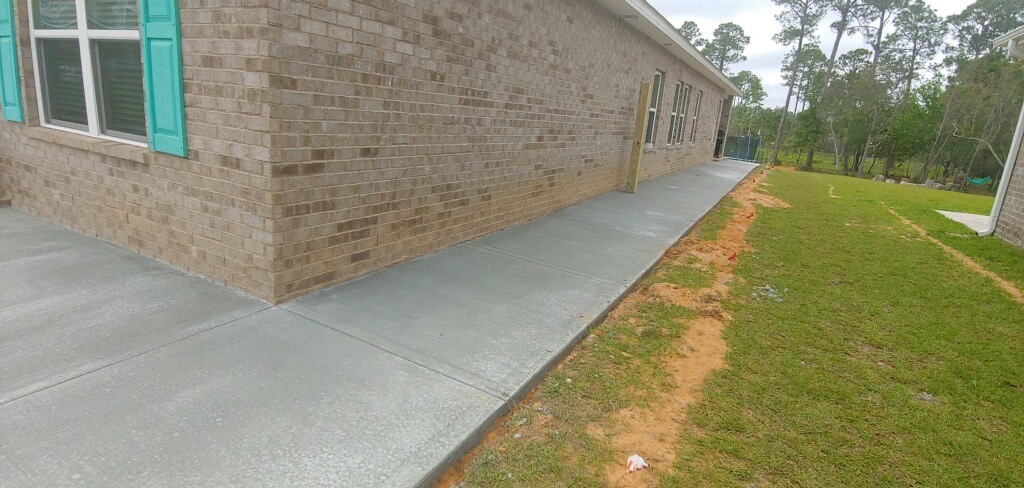 concrete sidewalk burlington